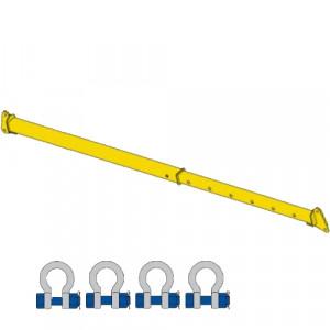 Barre d'écartement REGLABLE BER - Capacité 1 t à 10 t