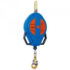 Antichute à rappel automatique BLOCFOR avec câble acier GALVANISE, carter ABS ou aluminium - Longueur 20 m