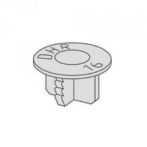 Bouchon plastique 6359 - Pour filetage Rd12 à Rd52