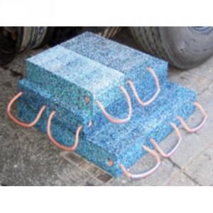 Bastaing en polyéthylène recyclé - Capacité 15 t - Longueur 500, 750, 1000, 1200 et 2000 mm