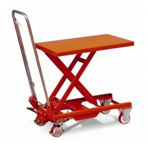 TS015 - Table élévatrice mobile manuelle 150 kg avec arceau pliable