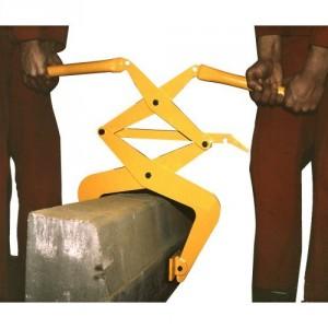 Pince pour bordures de trottoir de 0,12 m à 0,3 m BX02 avec poignées - Capacité 200 kg
