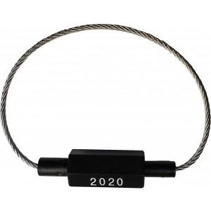 Câble d'identification inviolable EC Ø1,8 mm, longueur 180 mm
