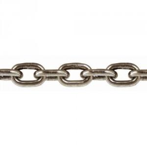 Chaîne ordinaire en acier INOX 316 CMCI à maillons courts DIN 766 - Ø 2 mm à 10 mm