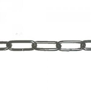 Chaîne ordinaire en acier INOX 316 CMLI à maillons longs DIN 763 - Ø 2 mm à 10 mm
