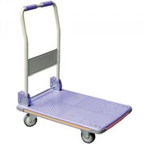 805*8928 - Chariot à dossier rabattable avec plateau en plastique moulé - Capacité 150 kg