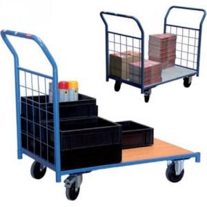Chariots modulaires habillage grillagé - Capacité 250 kg