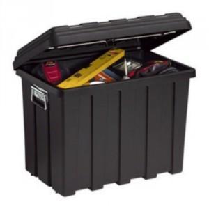 Coffret de rangement polypropylène avec poignées - Capacité 60 litres