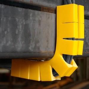 Coin de protection d'angle simple SKDE - Pour câbles Ø 8 mm à 14 mm