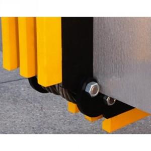 Coin de protection d'angle variable SKDS - Pour câbles Ø 20 mm à 80 mm