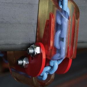 Coin de protection d'angle variable SKK - Pour chaînes Ø 6 mm à 20 mm