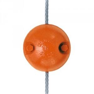 Contrepoids BL de 6,8 kg à 45,4 kg - Pour câble de Ø 6 mm à 22 mm