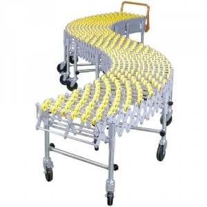Convoyeur flexible WFCA à galets polyamides - Capacité 70 kg/unité