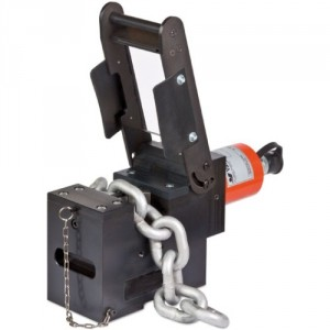 Coupe-chaîne hydraulique CCY - Ø maxi 16 mm grade 100