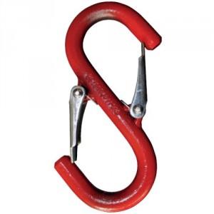 Crochet de LEVAGE 'S' à linguet de sécurité avec oeil ouvert SOL - CMU 0,1 t à 5 t