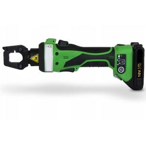 Presse de sertissage hydraulique sur batterie 18V PSE - Pour câbles Ø 0,9 mm à 4,6 mm