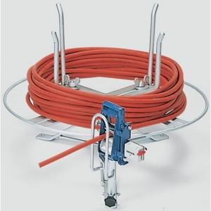 Dérouleur horizontal DHA pour couronnes de câbles - Enroulement Ø 100 mm à 700 mm