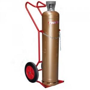 810*7957 - Diable chantier 1 bouteille diam. maxi 320 mm roues CC - Capacité 250 kg