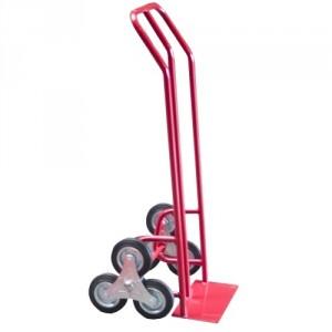Diable à poignées cintrées roues étoiles pour escalier - Capacité 200 kg