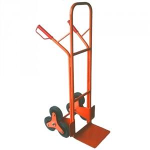 Diable à poignées et roues étoiles pour escalier THS - Capacité 200 kg, hauteur 1300 mm