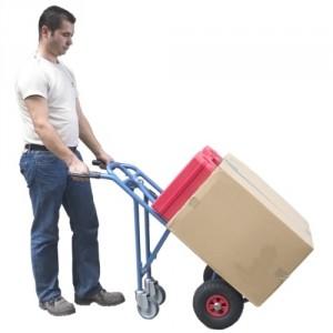 810*6146 - Diable / chariot 3 positions - Capacité diable 250 kg / chariot 350 kg