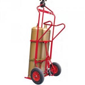 810*8295 - Diables chantier élinguable 2 bouteilles diam. maxi 320 mm - Capacité 250 kg