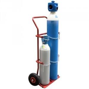 810*152 - Diable porte bouteilles roues PN - Capacité 200 kg