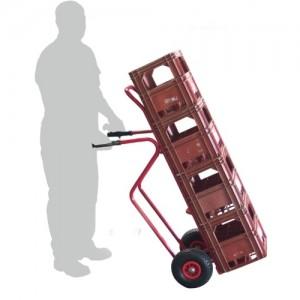 810*129 - Diable pour charges haute roues pneumatiques
