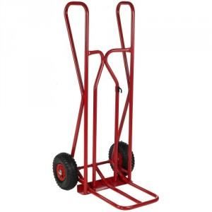810*3925 - Diable professionnel à poignées fermées roues PN avec bavette repliable 300 kg