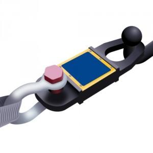 Dynamomètre électronique TLL pour le remorquage avec liaison par bluetooth - Capacité 25 t