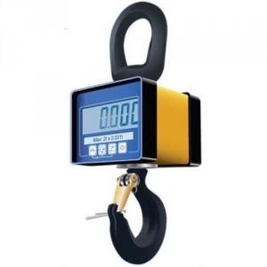 Dynamomètre électronique MWP avec crochet et afficheur intégré - Capacité 0,1 t à 5 t