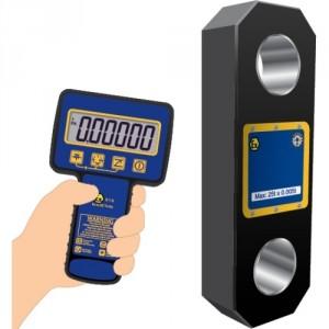 Dynamomètre électronique RLPATX zone ATEX avec liaison sans fil - Capacité 1 t à 500 t