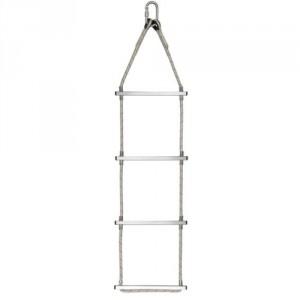 Echelle en corde polyamide Ø 10,5 mm (barreaux aluminium) - Longueurs 5 m à 25 m