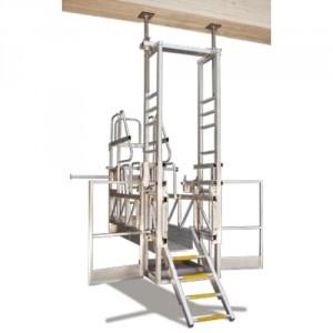 Elescaf - Plate-forme d'accès pour gaines d'ascenseurs