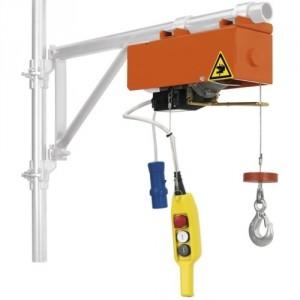 Élévateur de chantier DM 100 - Capacité 100 kg, Hauteur de levage 16 m, Vitesse de levage 15 m/min