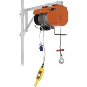 Élévateur de chantier DM 150 V pour potence - Capacité 150 kg, Hauteur de levage 40 m, Vitesse de levage 38 m/min