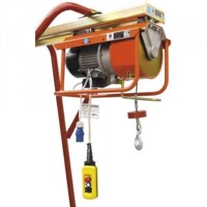 Élévateur de chantier DM 300/E pour chevalet - Capacité 300 kg, Hauteur de levage 25 m, Vitesse de levage 23 m/min