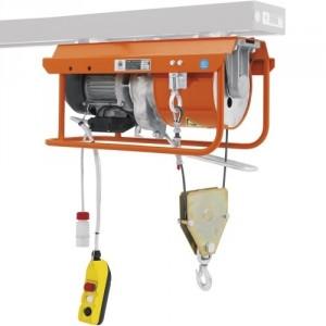 Élévateur de chantier DM 800/E pour chevalet - Capacité 800 kg, Hauteur de levage 25 m, Vitesse de levage 9 m/min