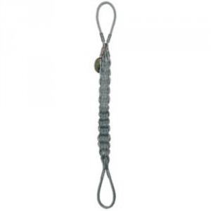 Elingue câble plate tressée 12 aussières boucles câblées nues - Capacité 2,2 t à 46,2 t