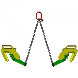 Elingue chaîne 2 brins lève-buse GN - Capacité 0,4 t