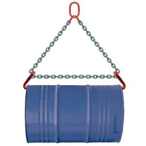 Élingue chaîne lève-fût - Capacité 0,8 t