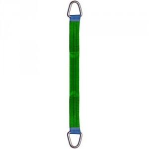 Elingue textile plate standard B4 avec 2 anneaux métalliques EGAUX - Capacité 1 t à 10 t