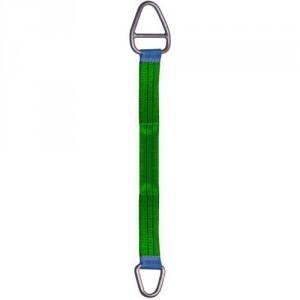 Elingue textile plate standard B5 avec 2 anneaux métalliques INEGAUX - Capacité 1 t à 10 t