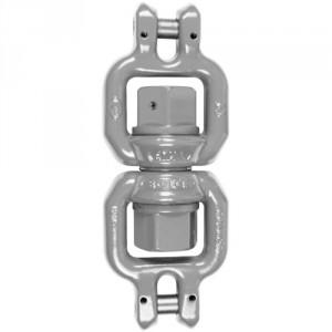 Emerillon de levage à billes à deux chapes ECA (ROTATIF sous charge) - Capacité 0,8 t à 8,2 t