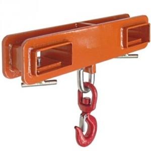 Etrier double PCH pour fourches de chariot - Capacité 1 t à 5 t