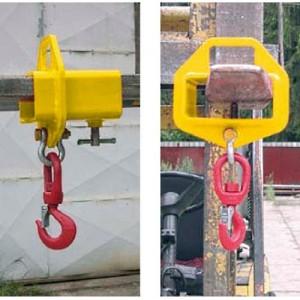 Etrier simple pour fourche de chariot FPF - Capacité 1 t à 8 t