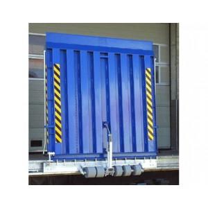 FBSS 5000 - Pont de liaison en acier articulé FIXE avec lèvre d'appui 160 mm - Capacité 5000 kg