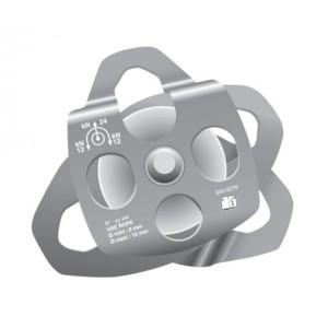 Poulie double flasques ouvrants PDFO - Pour drisse Ø 16 mm maxi.