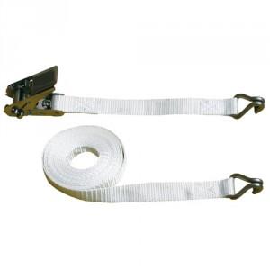 Arrimage INOX I25DR 25 mm en 2 parties avec crochets à 2 doigts rapprochés - LC 400 daN