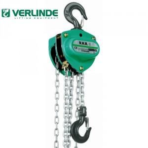 42VHR - Palan manuel à chaîne VERLINDE 0,25 t à 5 t